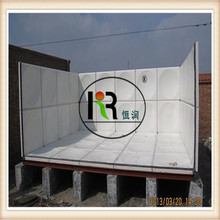 Hot Sale! GRP SMC Sectional Fiberglass Water Storage Tank/FRP Sectional Panels Tank Price