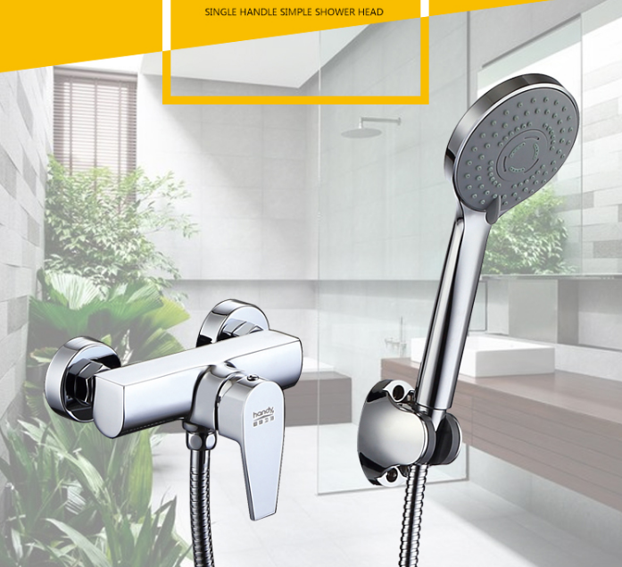 shower mixer set