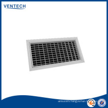 Aluminium supply air grille/air diffuser