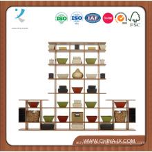 Auslage aus Holz für Einzelhändler oder Wohnungen
