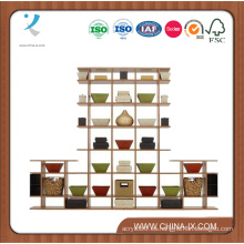 Estantes de exhibición de madera para las ventas al por menor o los hogares