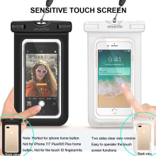 Clear Swimming Color: Black, white, blue , green, pink Type: Waterproof Cell Phone Pouch MOQ: 100pcs Function: waterproof 30M Pa
