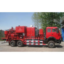 Automatic mixed slurry pump cementing cement trucks for oilfield