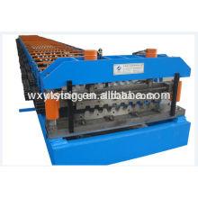 YD-000409 Rouleau de plate-forme métallique formant la machine / plate-forme en acier formant la machine avec l'unité de découpage automatique hydraulique
