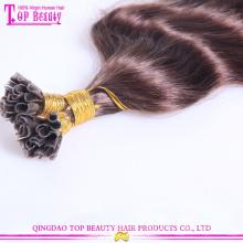 Die beliebtesten u Tipp beste Qualität remy u Tipp Keratin Echthaar Haarverlängerung