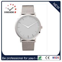 Relojes de pulsera de cuarzo de moda Relojes de pulsera de acero inoxidable para mujer (DC-1055)