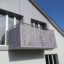 Laser Cut Balcony Stair Panels