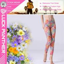 Atacado Secagem Rápida de Fitness Sublimada Secy Ladies Girl Yoga Calças Leggings Esportes Calças Justas