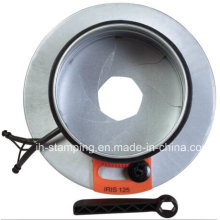 Ventilation Parts Iris Damper for Air Ducts