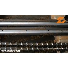 Одновинтовой цилиндр для производственной линии труб из ПВХ