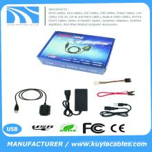 KuYia USB IDE SATA / PATA / IDE Drive vers USB 2.0 Adaptateur Câble Convertisseur pour 2.5 / 3.5 Disque dur