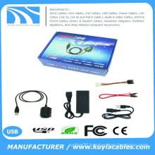 KuYia USB IDE SATA/PATA/IDE Drive to USB 2.0 Adapter Converter Cable for 2.5/3.5 Hard Drive