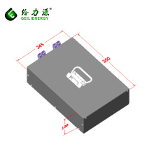Rechargeable deep cycle 8s12p lithium-ion battery packs 24v 40ah lithium ion battery pack