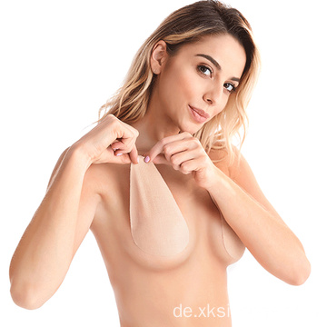 Sexy Backless Strapless Push Up Brustwarzenbezüge aus Silikon