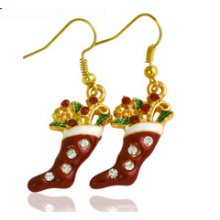 Christmas Jewelry/Christmas Earring/Christmas Sock (XER13373)