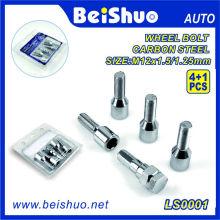 4+1PCS Hardened Steel Wheel Lug Bolt