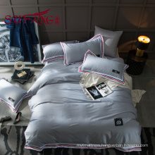 Luxury Hotel Bedding Set 100% cotton color striped 60S 300TC