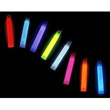 4 inch taper glow stick for christmas