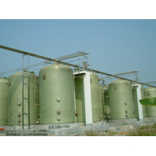 Fibra de vidro / tanque FRP para fermentação