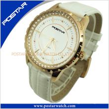 Senhoras de alta qualidade em aço inoxidável relógio de pulso de quartzo Psd-2864