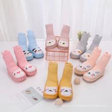 Cotton Cartoon 3d Baby Non Slip Cotton Floor Socks,Anti Slip Baby Shoe Socks