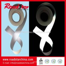 Qualitativ hochwertige silberne reflektierende PVC-Schaum Leder