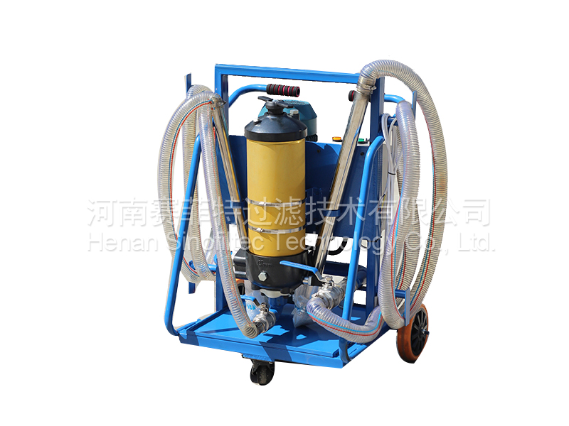 LYC-D Type Movable Oil Filter Pushchart (4)