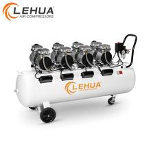 LeHua 4 cilindros compressor de ar dental silencioso de 115 psi