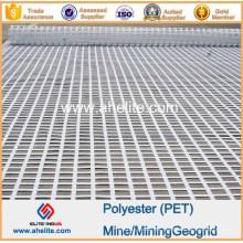Minería de poliéster Minería Geogrid