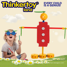 Modèle drôle de forme humaine Modèle d'éducation Toy Brains Block Toy