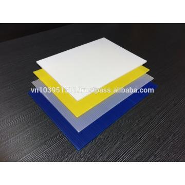 PP Corrugated Sheet Polypropylene hollow sheet