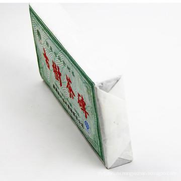 Здоровый и чистый Menghai Classic Old Cooked gu shu cha Pu Erh Tea Brick Puer Tea 500g Ripe Pu Er с бамбуковой упаковкой