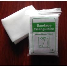 Einweg-medizinischer Dreiecksband aus Baumwolle