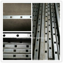 Galvanized or Powder Coated Punched Tube for Fence