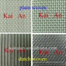 Hebei anping KAIAN plain & holländisches gewebtes Edelstahldrahtgeflecht