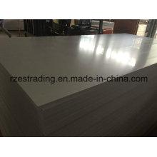 Placa rígida de PVC para a construção
