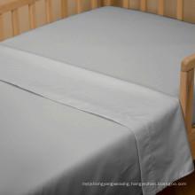 100% Cotton Plain Weave Hotel Flat Sheet (WSFS-2016010)