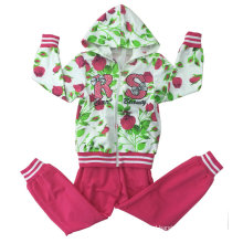 Fashion Girl French Terry Suit in Children Clothing Sport Wear (SWG-117)
