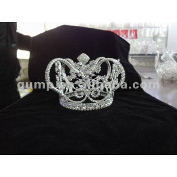 Mann Kristall volle Krone