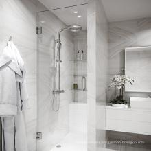 Seawin Handle Pivot  Hinge 3/8 Inch Black Stainless Steel Glass Aluminum Room Shower Door