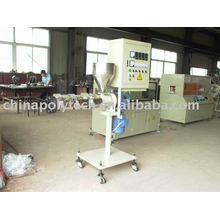 Coextrusion pipe production line