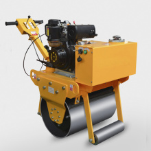 a cylindrical road roller made of iron