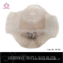 Party Mesh Hats Für Frauen Strand Sommer Sonne Hüte mit Blume
