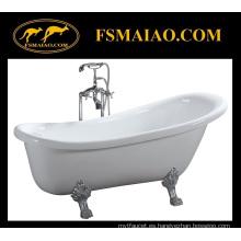 Bañera clásica independiente de acrílico de la bañera del baño (BA-8308)