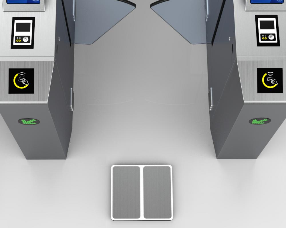 Esd Tester With Access Turnstile Gate