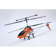 3.5CH Mid size RC Metal Helicopter with Gyro Blast V1 Orange Color