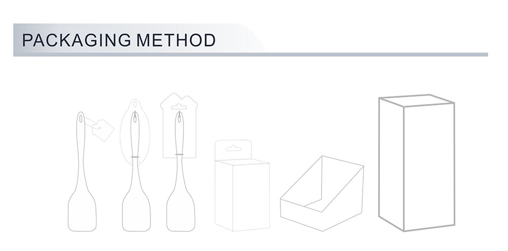 Kitchen Utensils Set Packaging Method