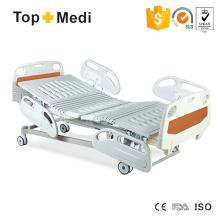 Abnehmbare Kopf Fuß Board Fünf Funktion Elektrisch Neigbar Krankenhaus Bett