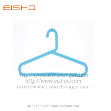 EISHO Kids Rrecycling Hangers in plastica blu