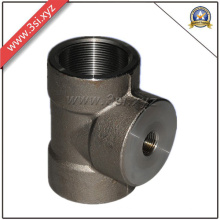 Carbon Steel Asme Female Equal Tee (YZF-L100)